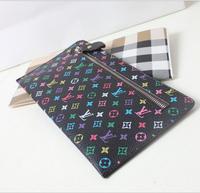 2014 NEW fashion brand designer leather long wallets women wallet ladies' purse bag handbag card pack