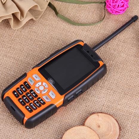 Original Unlocked L8 Waterproof Mobile Phone IP67 Walkie Talkie Dustproof Shockproof Dual SIM Card Bluetooth TV FM(China (Mainland))