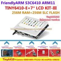 FriendlyARM ARM11 Board Kit-III Enhanced TINY6410 + 7 inch LCD + WIFI + Camera + miniPCIe 3G + TTL + USB - RS232 , Linux Android