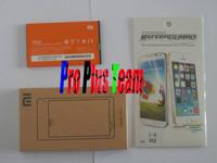 Free Shipping Xiaomi Original Battery Grey BM20 Battery + Original charger +film For xiaomi m2 Xiaomi m2s