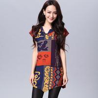 Free shipping 2014 big size shirt basic shirt slim personalized short-sleeve shirt bl039  XXXL
