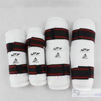 Taekwondo gear martial club arm guard leg guards still 4 pieces high quality low price WTF standards