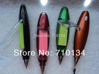 Ballpoint Pens Korea stationery multifunctional scratchpad light pen ballpoint pen creative pen free shipping