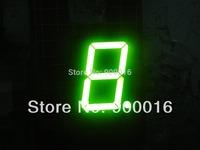 1.8 inch super green single digit 7 segment led numeric display outdoor