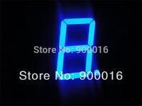 1 digit blue 7 segment led  display outdoor