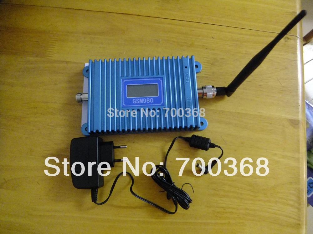 LCD Display! GSM 900Mhz Mobile Phone GSM980 Signal Booster , GSM Signal Repeater , Cell Phone signal Amplifier+indoor antenna(China (Mainland))