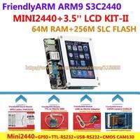 FriendlyARM Development Board ARM Kit -II MINI2440 + 3.5 inch LCD + GPIO + CMOS Camera + TTL-RS232 + USB - RS232 , S3C2440 ARM9
