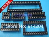 Free shipping 45pcs Assorted DIP IC Sockets 8,14,16,18,20,24,28,32,40