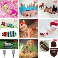 Retail Crochet Baby Owl Hat with Diaper Cover Set  Animal Designs Baby  Photography Props Crochet Baby Clothes1set MZS-14002