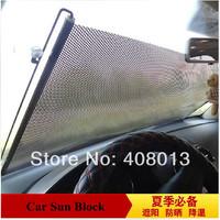 Free shipping 50cm X 125cm car sun block window sunscreen car windshield sunshade sun shading for front side rear windows film
