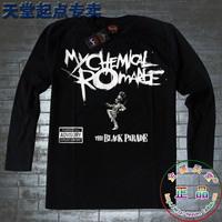 Men long-sleeve T-shirt heavy metal romantic my chemical romance