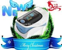 2014 ***Sale Finger pulse oximeter SPO2 PR monitor OLED display 4 color waveform 6 Display Modes