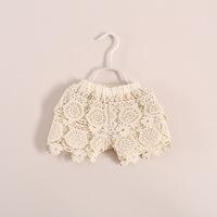 wholesale 2014 new handmade crochet shorts children's clothing 5pcs/lot 16e022501