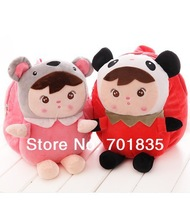 New 2014 plush cartoon child school bag 1-3 years old baby small child backpack baby free shipping