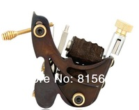 Drop shipping wholesale Professional Cast Iron tattoo machine gun