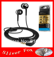 Free Shipping CX400II CX400 II In Ear Earphone for mp3,mp4 Noise Cancelling Headphone Bass Sound Headset