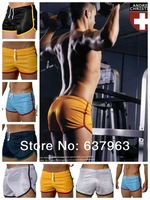 NEWS 2014 American fashion famous brand, AD DREW mesh smooth, breathable, toning, men's movement track pants, shorts