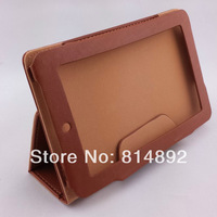 freeshipping PU Leather photoframe style tablet protection case for 7inch tablet Onda V701,V711