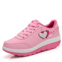 Women's autumn and winter fashion sway female running shoes breathable shoes casual shoes platform shoes