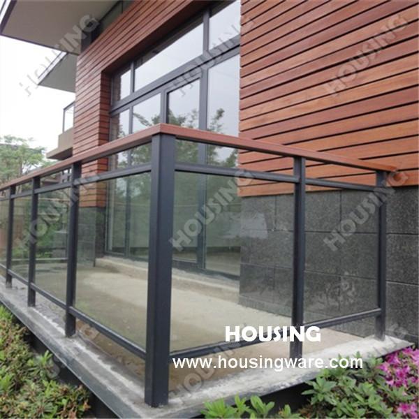 Vidrio templado barandilla de aluminio aluminio barandilla - Barandilla de aluminio ...