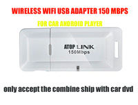 Wireless USB wifi adapter 150M Mini USB WiFi Wireless adapter Network Card 802.11b/g/n LAN Adapter FOR ATOP CAR ANDROID