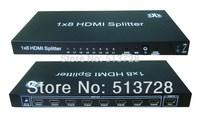 1X8 4Kx2K HDMI Splitter with IR