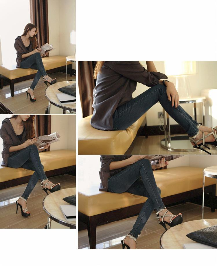 Women in Tight Fitting Jeans Tight Fitting Jeans Female