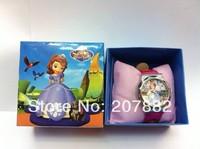 Free shipping !50pcs/lot ! 2014 Fashion Sofia The First Character Quartz Watch Cartoon Children Watch A3260 Wholesale