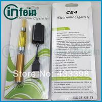 Starter Kit Electronic Cigarettee E Cigarette Electronic Ego CE4 Blister Kit CE4 Clearomizer EGO T Battery (1*ego-ce4 blister)
