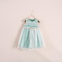 wholesale two colored veil children's clothing 5pcs/lot ye040632