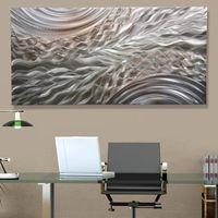 Modern Metal Wall Art Contemporary Home Decor - Positive Energy - Jon Allen