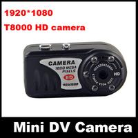 New HD 1080P Night Vision Mini Camcorder Mini DV Camera Recorder T8000