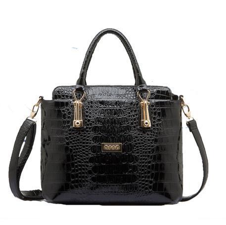 Hong Kong OPPO crocodile grain leather female bag 2014 new European and American fashion handbag shoulder inclined shoulder bag(China (Mainland))