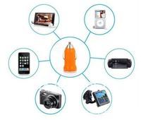1404x Bullet Mini USB Charger Car Charger Car Charger MINI USB car charger car charger Colorful 1219648810