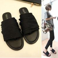 2014 punk sandals female shoes summer flat slippers clip toe flip flops women casual all-match lady flats