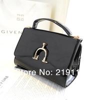 Hot Spring charm handbag bag new Korean patent leather handbag shoulder bag bag diagonal casual handbags factory outlets