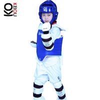 High Quality 5pcs set Taekwondo & Karate head protector armguard shin guard WTF standard helmet body protect