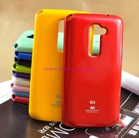 Free Shipping Korea Original Mercury GOOSPERY JELLY CASE TPU Case for LG G2 (D802) Soft TPU case retail package