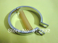 Free Shipping Male stainless steel Penis Chastity belt Art device Cock cage with Ring Sex toys