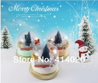 2014 New Seconds Kill Blue Red White Plum 30*30cm Cake Towel Home Decoration Christmas, Indoor Christmas Tree Dessert Kids Gift