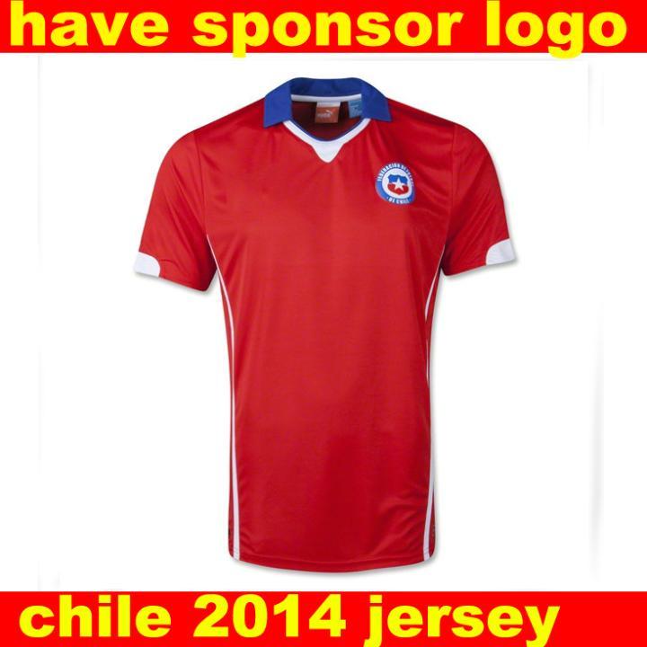 cile maglia cile campionato del mondo 2014 calcio maglia