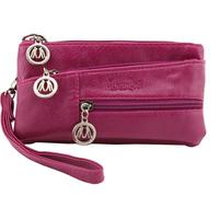 Hot-selling mini small PU print handbag small tote bag zipper coin purse mobile phone bag