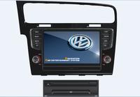 2DIN Indash VW GOLF7 CAR Radio player built-in navigation 3G HOST Bluetooth Radio Ipod CANBUS!Russian language menu!Free map!