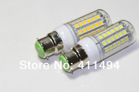 5pcs/lot 2014 new Retail  B22 69LEDs SMD 5050 15W LED corn bulb lamp Warm white white 5050SMD led lighting 220V 230V 240V