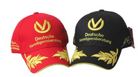 Seven times world champion Michael Schumacher signature embroidered baseball cap F1 wheat motorcycle racing cap