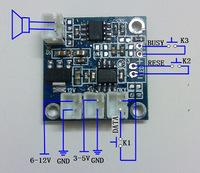 3-12 v Wide voltage power supply  2.5w output  music module  voice module DIY