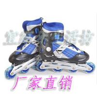 Single shoes inline skates roller skates child adult single