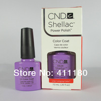 73 Colors Available Free Shipping! New arrival Fashion colors CND Shellac Soak off UV LED Nail Gel Polish 3pcs/lot