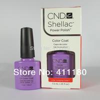 79 Colors Available Free Shipping! New arrival Fashion colors CND Shellac Soak off UV LED Nail Gel Polish 3pcs/lot