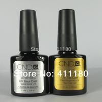 Free Shipping! New arrival Fashion colors CND Shellac Soak off UV LED Nail Gel Polish 2pcs/lot